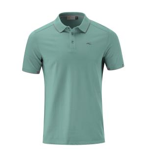 Men Stan Polo S/S (front logo).48.ice bl