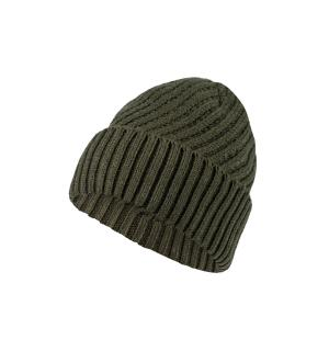Women Twill Beanie.intensive green.E