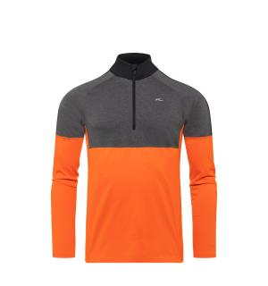 Men Race Midlayer Half-Zip.kjs or-stel g