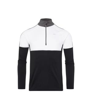 Men Race Midlayer Half-Zip.black-white.5