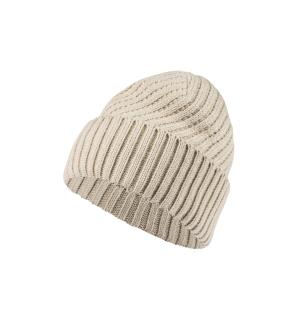 Women Twill Beanie.pebble rock.E